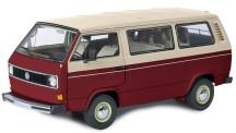 Schuco 450038100 VW T3a Bus rot/weiß
