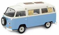 Schuco 450043500 VW T2a Bus blau/weiß