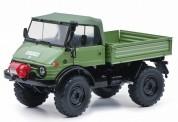 Schuco 450044500 Unimog 406 Cabrio grün