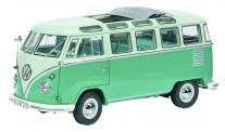 Schuco 450051000 PRO8: VW T1/2b Samba türkis/grün