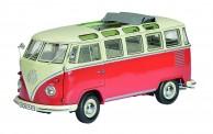 Schuco 450051100 PRO8: VW T1/2b Samba beige/rot