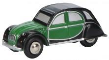 Schuco 450151500 Citroen 2CV grün/schwarz