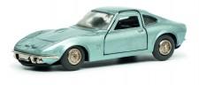 Schuco 450176200 Micro Racer: Opel GT blau-met
