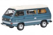 Schuco 450347600 VW T3a Joker Campingbus medium blau