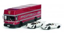 Schuco 450372700 Set: 70 Jahre Porsche