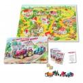 Schuco 450513500 Piccolo Spiel: Traktor Rennen