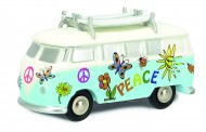 Schuco 450533600 Piccolo: VW T1 Bus mit Surfbrett