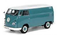 Schuco 450785000 VW T1/2b Kasten blau