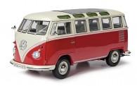 Schuco 450785200 VW T1/2b Sambabus rot/beige