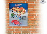 Schuco 450851600 Blechschild Edition 2 Schuco Fabrik