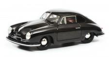 Schuco 450879900 Porsche 356 Gmünd schwarz