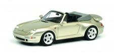 Schuco 450887900 Porsche 911 Cabrio grau