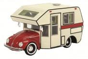 Schuco 450889800 VW Käfer Motorhome rot
