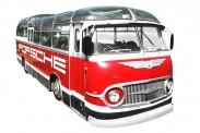 Schuco 450896600 Auwärter Bus Porsche Renndienst