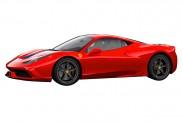 Schuco 452613300 Ferrari 458 Speciale rot