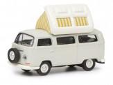 Schuco 452640400 VW T2a Camper grau/weiß
