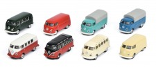 Schuco 452640800 8er Set: VW T1/2 Kasten / Bus