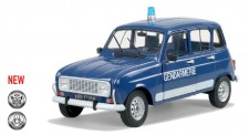 Solido 421183930 Renault R4 Gendarmerie