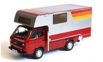 Premium ClassiXXs 11527 VW T3a Camping Tischer rot/weiß