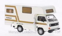 Premium ClassiXXs 11528 VW T3a Camping Tischer weiß/weiß