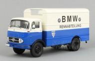 Premium ClassiXXs 12107 MB LP911 Koffer-Lkw BMW Rennabteilung