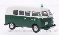 Premium ClassiXXs 13852 VW T1/2b Bus Polizei grün/weiß