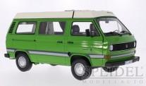 Premium ClassiXXs 30030 VW T3a Campingbus mit Faltdach grün