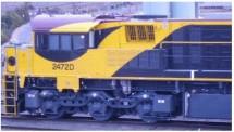 Southern Rail Q24.09H0S QR National Diesellok 2470 Class Ep.5