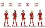 Carrera 21123 Figurensatz Grid Ladies 5-tlg