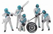 Carrera 21133 Figurensatz Mechaniker silber