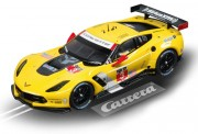 Carrera 23818 DIG124 Chevrolet Corvette (C7) R #3 gelb