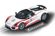 Carrera 30711 DIG132 Porsche 918 Spyder #3 weiß