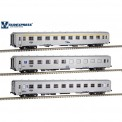 Sudexpress S0419 CP Personenwagen-Set 3-tlg Ep.5