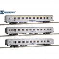 Sudexpress S0519 CP Personenwagen-Set 3-tlg Ep.5