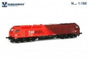 Sudexpress STAK600416N Takargo Diesellok Euro 4000 Ep.6