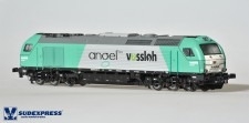 Sudexpress SUA400112DCS Angel Trains Diesellok Euro 4000 Ep.6