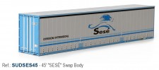 Sudexpress SUDSES45 SESE 45' Swap Container
