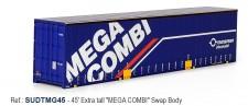 Sudexpress SUDTMG45 MEGA COMBI 45' Swap Container