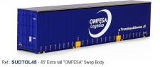 Sudexpress SUDTOL45 OMFESA 45' Swap Container