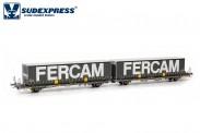 Sudexpress SURM01317 Renfe Containerwagen 4-achs Ep.6