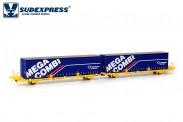 Sudexpress SUTF00417 Transfesa Containerwagen 4-achs Ep.5