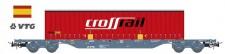 Sudexpress SUVT01817 VTG Rail Containerwagen 4-achs Ep.6