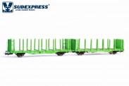 Sudexpress WRSE070 ÖBB Holztransportwagen Ep.5/6