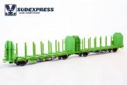 Sudexpress WRSE099 DBAG Holztransportwagen Ep.5/6