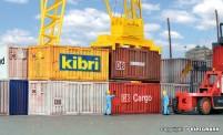 Kibri 10924 20-Fuß-Container, 8 St.