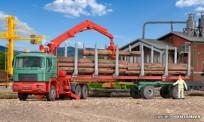 Kibri 12271 MAN F90 Langholztransport-HZ