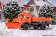 Kibri 15001 MB Rundhauber Kipp-Pritsche Winterdienst