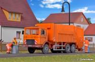 Kibri 15009 MAN F8 Pressmüllwagen kommunal