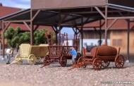 Kibri 15703 Landwirtschaftliches Anhänger-Set 3-tlg