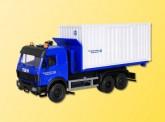 Kibri 18461 MB SK Container Lkw THW Heiligenhafen